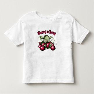"Nanof-""Sharing is caring"" Toddler T-shirt"
