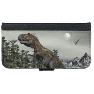 Nanotyrannus dinosaur - 3D render iPhone 6 Wallet Case