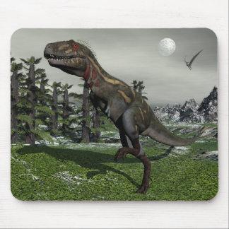 Nanotyrannus dinosaur - 3D render Mouse Pad