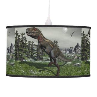 Nanotyrannus dinosaur - 3D render Pendant Lamp