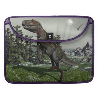 Nanotyrannus dinosaur - 3D render Sleeve For MacBook Pro