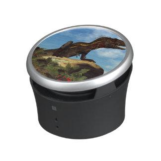 Nanotyrannus dinosaur resting - 3D render Bluetooth Speaker