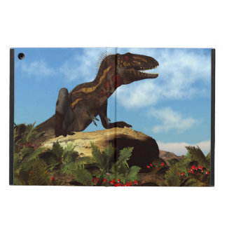 Nanotyrannus dinosaur resting - 3D render Cover For iPad Air