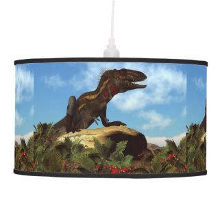 Nanotyrannus dinosaur resting - 3D render Pendant Lamp
