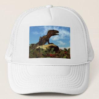 Nanotyrannus dinosaur resting - 3D render Trucker Hat