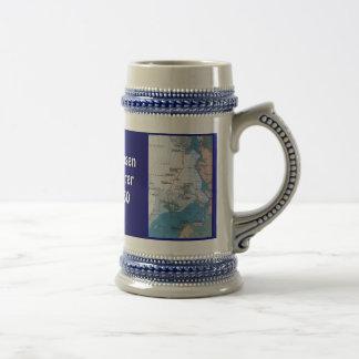 Nansen's Polar Voyages 18 Oz Beer Stein