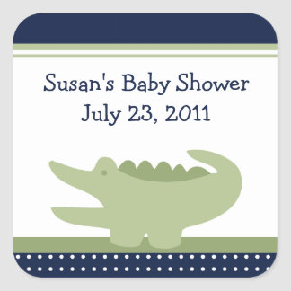 Nantucket Alligator Stickers/Envelope Seals