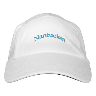 Nantucket Arch Text Logo Hat