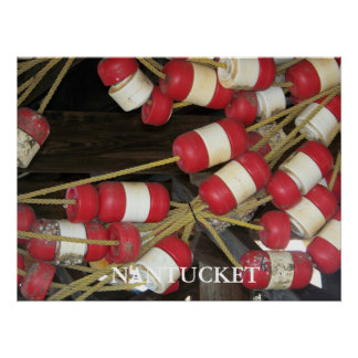 Nantucket Bouys 1 Poster