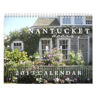 Nantucket Doors 2013 Calendar