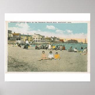 Nantucket Jetties Beach Poster