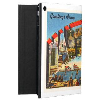 Nantucket Massachusetts MA Vintage Travel Souvenir iPad Air Covers