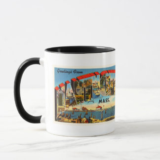 Nantucket Massachusetts MA Vintage Travel Souvenir Mug