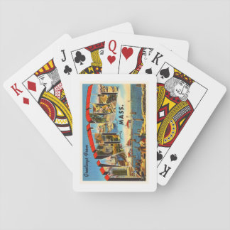 Nantucket Massachusetts MA Vintage Travel Souvenir Poker Deck