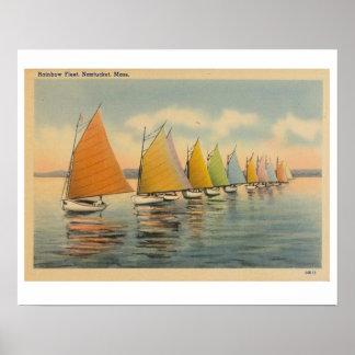 Nantucket Rainbow Fleet 2 Poster