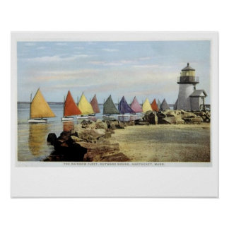 Nantucket Rainbow Fleet 3 Poster