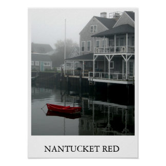 Nantucket Red Poster
