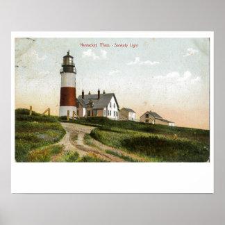 Nantucket Sankaty Lighthouse 2 Poster