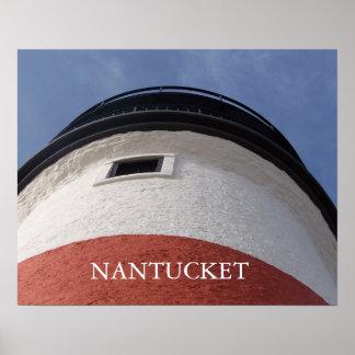 Nantucket Sankaty Lighthouse Poster