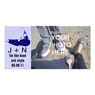 Nantucket Save the Date Customized Photo Card