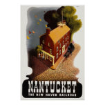 Nantucket Vintage Travel Poster