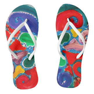 Nantucket Wave Flip Flops