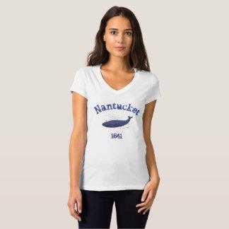 Nantucket, whale, 1641 shirt for women