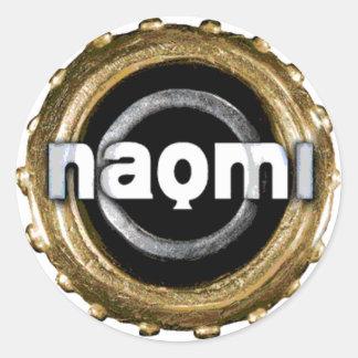 Naomi logo sticker