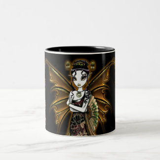 """Naomi"" Oriental Fairy Art Dragon Tattoo Mug"