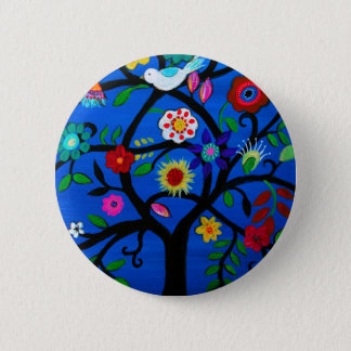 NAOMI'S TREE OF LIFE 2 INCH ROUND BUTTON