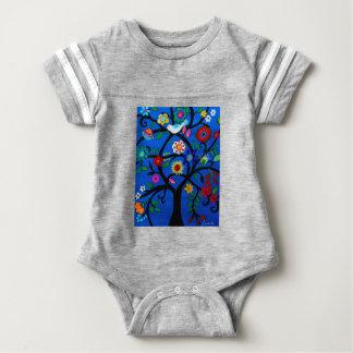 NAOMI'S TREE OF LIFE BABY BODYSUIT