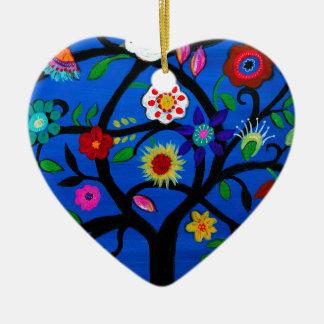 NAOMI'S TREE OF LIFE CERAMIC ORNAMENT