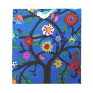 NAOMI'S TREE OF LIFE NOTEPAD