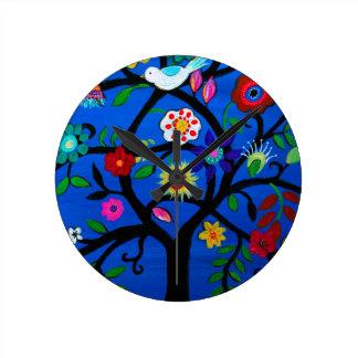 NAOMI'S TREE OF LIFE ROUND CLOCK