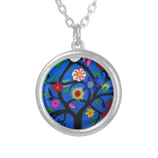 NAOMI'S TREE OF LIFE SILVER PLATED NECKLACE