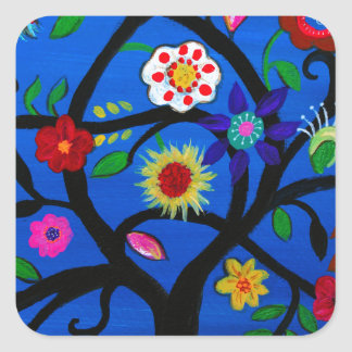 NAOMI'S TREE OF LIFE SQUARE STICKER