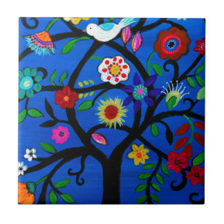 NAOMI'S TREE OF LIFE TILE