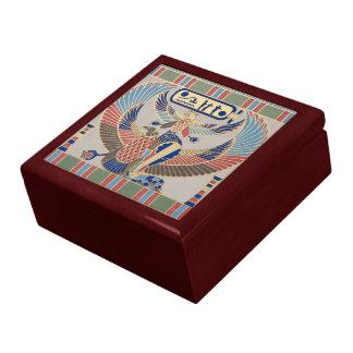 Naos Ramesses II Snake Bird Cartouche Egyptian Gift Box