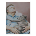 """Nap Buddies"" Italian Greyhound Postcard"