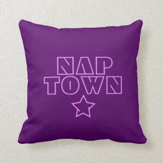 Nap-polis Throw Pillow
