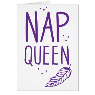 nap queen card