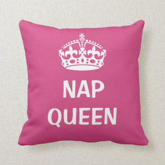 Nap Queen cushion with crown design