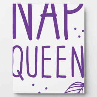 nap queen plaque