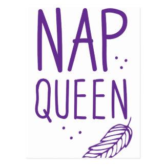 nap queen postcard