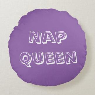 Nap Queen Round Pillow