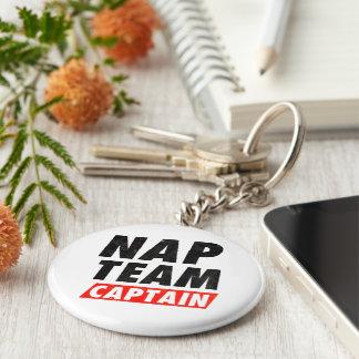 Nap Team Captain Basic Round Button Keychain