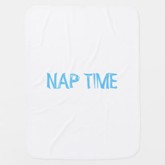 """NAP TIME"" Baby Blanket"