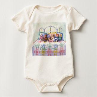 NAP TIME by SHARON SHARPE Baby Bodysuit