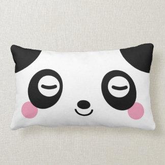 Nap Time Panda Lumbar Pillow