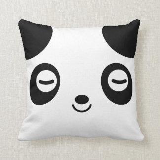 Nap Time Panda Throw Pillow